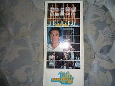 1979-80 UCLA BASKETBALL MEDIA GUIDE Yearbook 1980 NCAA RUNNERS-UP! Press Book AD