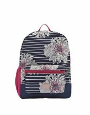 Joules Girls' Patch Backpack - French Navy Peony X_JNRPATCHG
