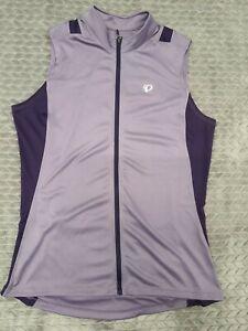 Pearl Izumi Womens Select Cycling Full Zip Vest Purple Size XL