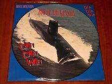 "BRUCE DICKINSON DIVE LIVE *RARE* UK 12"" PICTURE DISC VINYL EMI 1990 IRON MAIDEN"