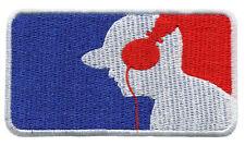 Major League DJ Turntable Headphones Shirt Patch Badge 9.5cm