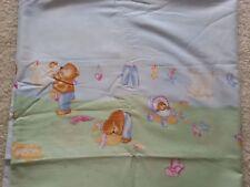 Alvi Babybettset mit Nestchen, Bettumrandung, Himmel, Bettbezug 100x135, Kissenb