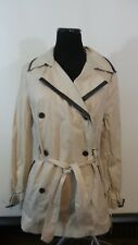 "NWT *Dana Buchman* Wmn's ""M"" Khaki City Sleek L/S Double Breasted Jacket"