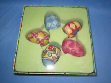 a Boxed Set of Jim Shore Easter Eggs ~ #4010485, dated 2007