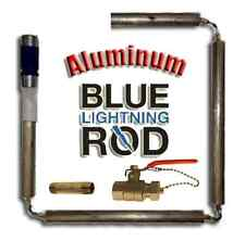 Blue Lightning Aluminum / Zinc Flexible Anode Rods, Nipple Type, Drainage Kit