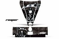 Hood & Tailgate Graphics Kit Decal Sticker Wrap Can-Am BRP Commander REAPER BLK