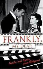 """Frankly, My Dear: Quips and Quotes from Hollywood"" by Shelley Klein NEW!"