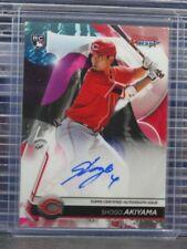 2020 Bowman's Best Shogo Akiyama Rookie Auto Autograph RC #B20-SA Reds K89