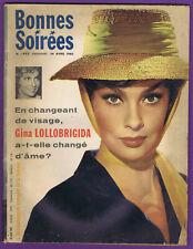 ▬►BONNES SOIRÉES 1993 (1960) LOLLOBRIGIDA_AZNAVOUR_EUROVISION JACQUELINE BOYER