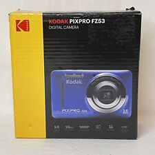 Kodak PixPro FZ53 Point and Shoot Digital Camera With 2.7 LCD Blue