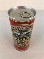 Mellanol IIb 16 oz Pull tab Sweden Beer Can - Bottom Opened