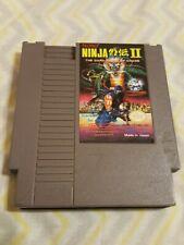 Ninja Gaiden II 2: The Dark Sword of Chaos (NES, 1990) - Tested Working