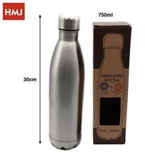 Bottiglia Termica Porta Vivande Acciaio Inox Thermos Contenitore 750ml hmj