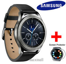 Genuine Samsung Gear S3 Classic LTE Smart Watch SM-R775 + Free 3 Screen Guards