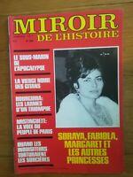 MIROIR DE L'HISTOIRE N°296 1977 BOURGUIBA MISTINGUETTE SORAYA FABIOLA MARGARET