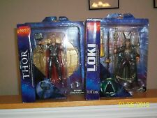 Diamond Marvel Select Thor and Loki from 2011 Thor movie