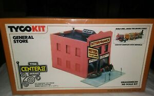 Tyco Kit General Store Unassembled Ho Scale Train 7798 SEALED Center St 102pc