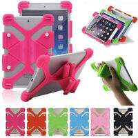 Universal Protective Silicone Gel Cover Case For 7-12 Inch iPad Tablet Tab PC