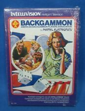 APBA Backgammon, Intellivision (Mattel, '79) NEW in Shrink Wrapped Box