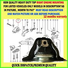 TOP RIGHT ENGINE MOUNT RENAULT MEGANE MK2 SCENIC II GRAND SCENIC II 1.9 DCI 2.0