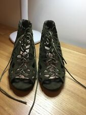 Primark Green Shoes Size 5