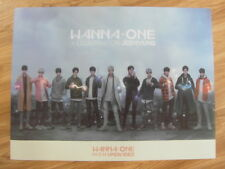 WANNA ONE - UNDIVIDED (ART BOOK VER.) [ORIGINAL POSTER] *NEW* K-POP