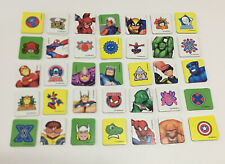 MEMORY Matching Game Marvel SPIDER-MAN & FRIENDS Replacement CHARACTER CARDS