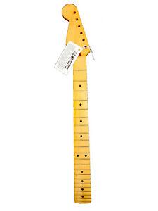 Manche Gaucher LBF pour Stratocaster 1 pce érable Vernis teinte vintage, 22Frets
