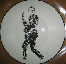 "NEU Limited 12"" Picture Vinyl LP BBC Radio Mono - Eddie Cochran -- Elvis Presley"