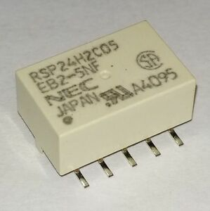 NEC Miniature Non Latching DPDT Relay 5V 1A SMD SMT EB2-5NF