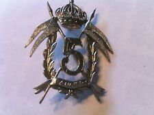 Belgian army armoured badge insigne blindee char g