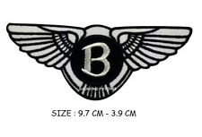 Bentley Car Iron On/Sew On Embroidered Brand New Sports Car Patch