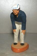 """NEW Bowls Player : The Watcher """" Marius """" ,  for Santon Fouque 9 Cm"""