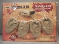 The Walking Dead Soap-On-A-Rope Daryl's Walker Ear Necklace by The Coop