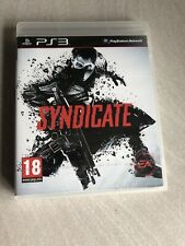 NEUF NEW syndicate playstation PS3 français