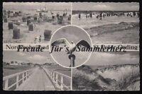 178 P  AK  Ansichtskarte   St. Peter-Ording  Nordseeheilbad 5 Motive 1961