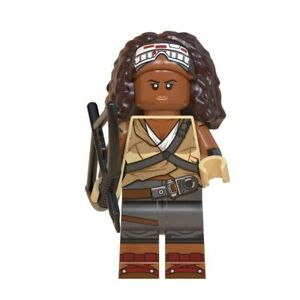 Star Wars Jannah Mandalorian Baby Yoda Rise Skywalker Custom Lego Mini Figure