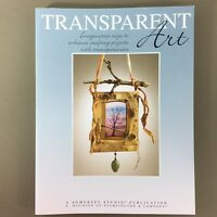 Transparent Art book by Somerset Studio Stampington Press craft projects acetate