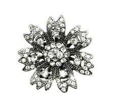 3D Crystal Eye Chunk Charm Snap Button Fit For Noosa Necklace/Bracelet  NSKZ68