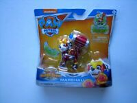 "Nickelodeon Paw Patrol  ""Marshall"" Mighty Pups Action Figure Sealed"