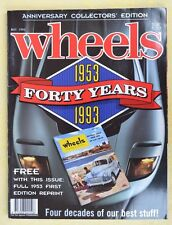 Wheels May 1993 Plymouth Prowler Holden FJ, EH Special, HQ Kingswood VH & VP Com