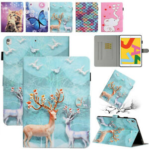 """Smart Leather Case Stand Cover Fr iPad Mini Air Pro 9.7"""" 6th 7th 10.2"""" 10.5"""" 11"""""""