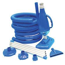 Kit di manutenzione piscina Deluxe aspirazione sporcizia pulizia acqua 290461N