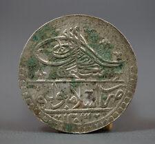 OTTOMAN TURKEY EMPIRE SILVER COIN SELIM III 1203/3 YUZLUK CONSTANTINOPLE MINT