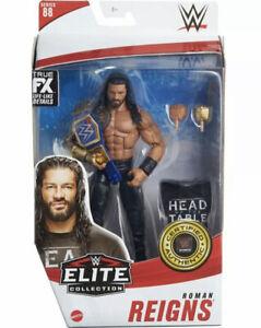 Mattel WWE Elite Collection Series 88 ROMAN REIGNS 6in Figure In Stock