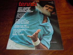 "VINTAGE "" TENNIS "" MAGAZINE - NOVEMBER 1973"
