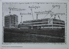 Plakat -  Bauhaus - Gebäude - Titel: Bauhauspostkarte