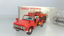Tomica Limited Vintag  1:64  Nissan  Junior  Pump Fire Engine (LV-30b)  Red Used