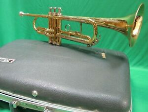 CONN 15B Refurbished 🎺1968 Trumpet - OUTFIT Extras with mouthpiece & Case