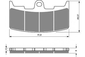 BENDIX FRONT BRAKE PADS. SUIT MOST BUELL XB9 XB12 MODELS 03-10.